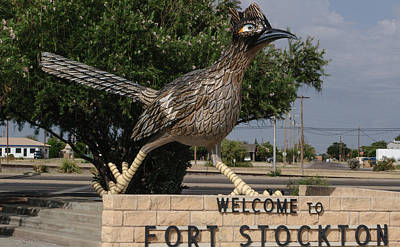 Photograph - Welcome To Fort Stockton by Tikvah's Hope