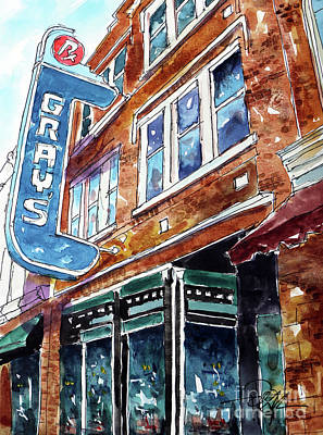 Franklin Tennessee Painting - Welcome To Franklin by Tim Ross