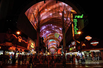 Photograph - Welcome To Fremont Street by Jennifer White