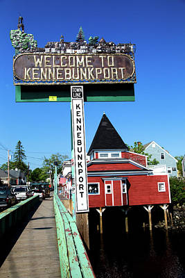 Photograph - Welcome To Kennebunkport by Karol Livote