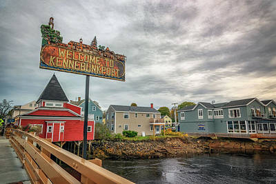 Photograph - Welcome To Kennebunkport by Rick Berk
