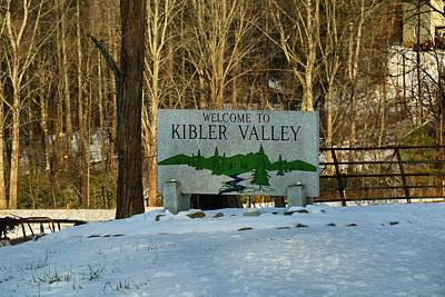 Photograph - Welcome To Kibler Valley by Kathryn Meyer