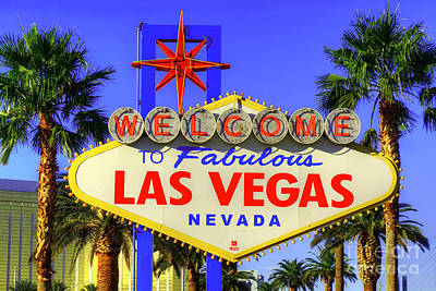 Welcome To Las Vegas Art Print