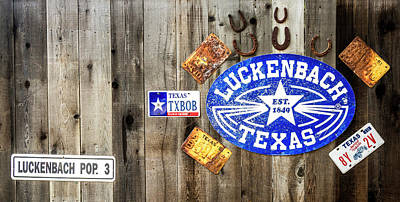 Photograph - Welcome To Luckenbach, Texas  by Andy Crawford