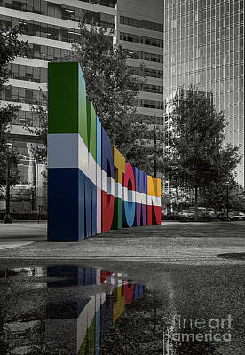 Photograph - Welcome To Midtown Atl by Doug Sturgess