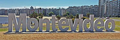 Photograph - Welcome To Montevideo by Sandy Taylor
