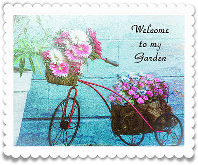 Photograph - Welcome To My Garden by Leticia Latocki