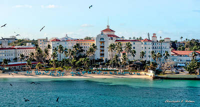 Welcome To Nassau Art Print by Christopher Holmes