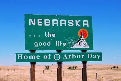 Photograph - Welcome To Nebraska by Matt Harang