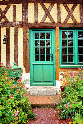 Welcome To Normandy Art Print