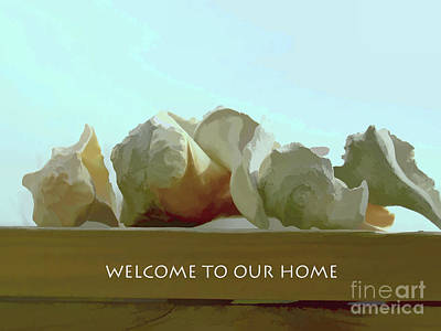 Photograph - Welcome To Our Home by Roberta Byram