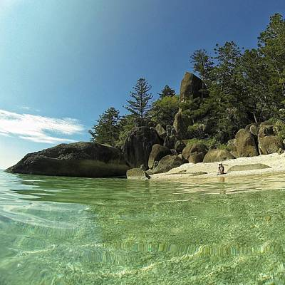 Photograph - Welcome To Paradise In The Whitsundays by Keiran Lusk