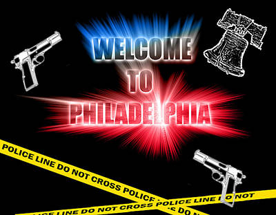 Northeast Philly Photograph - Welcome To Philadelphia by Christopher Woods