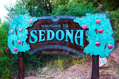 Photograph - Welcome To Sedona by Dany Lison