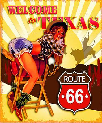 Welcome To Texas Original