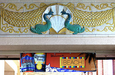 Photograph - Welcome To The Beach Bar by John Rizzuto