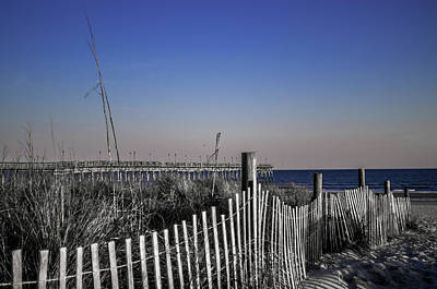 Photograph - Welcome To The Beach by Gerald Monaco