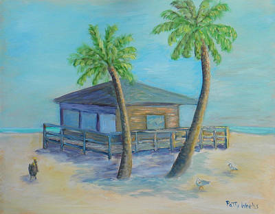 Painting - Welcome To The Beach by Patty Weeks