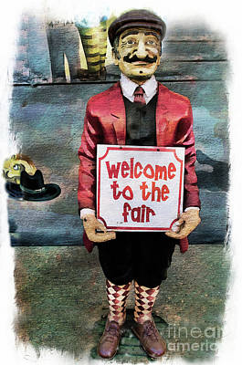 Photograph - Welcome To The Fair by Norma Warden