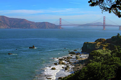Photograph - Welcome To The Golden Gate by Bonnie Follett