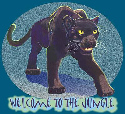 Mixed Media - Welcome To The Jungle by J L Meadows