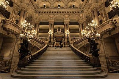 Photograph - Welcome To The Opera - 1 by Hany J