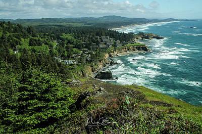 Photograph - Welcome To The Oregon Coast by Nick Boren