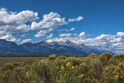 Photograph - Welcome To The Tetons - Grand Teton National Park Wyoming by Brian Harig