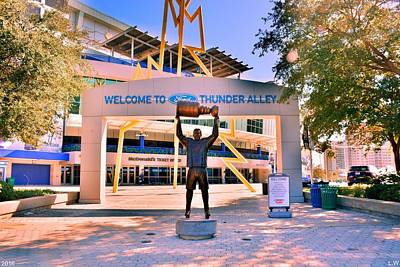 Photograph - Welcome To Thunder Alley by Lisa Wooten