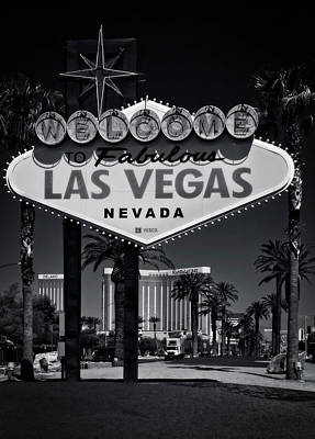 Photograph - Welcome To Vegas Xi by Ricky Barnard