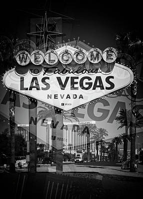 Photograph - Welcome To Vegas Xiv by Ricky Barnard