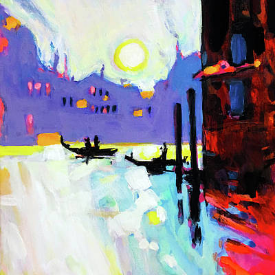 Wall Art - Painting - Welcome To Venice by Charles Wallis