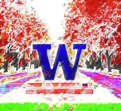 Mixed Media - Welcome To Washington by DJ Fessenden