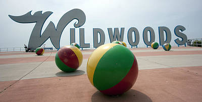 Photograph - Welcome To Wildwood by Mary Haber