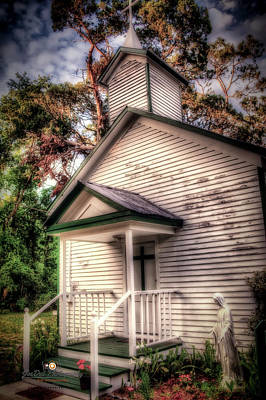 Photograph - Welcome To Worship by Joedes Photography