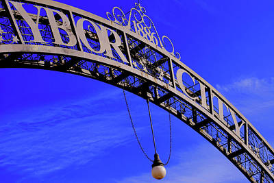 Photograph - Welcome To Ybor City by Amanda Vouglas