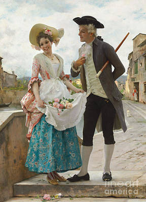 Painting - Welcomed Attention by Frederico Andreotti