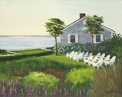 Cape Cod Painting - Welcoming The Morning Sun by Lynn Ricci