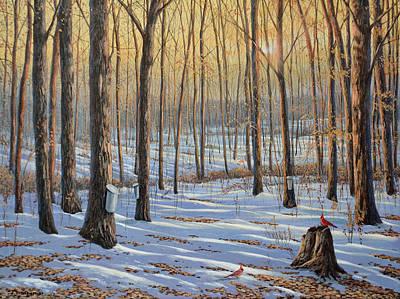 Painting - Welcoming The Sunrise by Jake Vandenbrink
