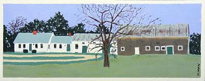 Weld Farm 2 Art Print