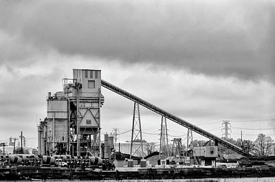 Photograph - Weldon Asphalt Plant by Steven Richman