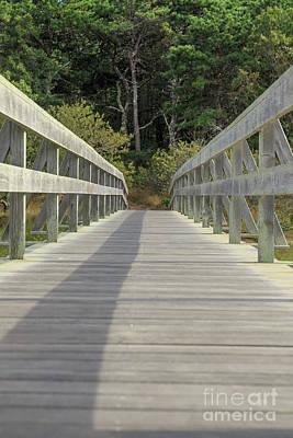 Photograph - Welfleet Bridge To Uncle Tim's Island by Edward Fielding