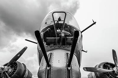 Photograph - Well Armed Flying Fortress by Randy Scherkenbach