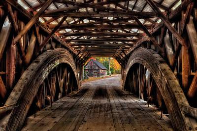 We'll Cross That Bridge Art Print