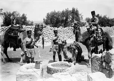 Photograph - Well Of Magi 1934 by Munir Alawi