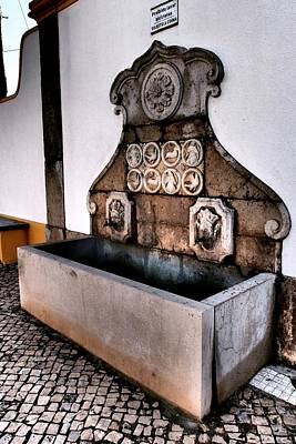 Photograph - Well Of Vila Nogueira De Azeitao In Portugal by Dora Hathazi Mendes