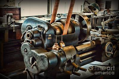 Metal Fabrication Photograph - Well Oiled Machinery by Paul Ward