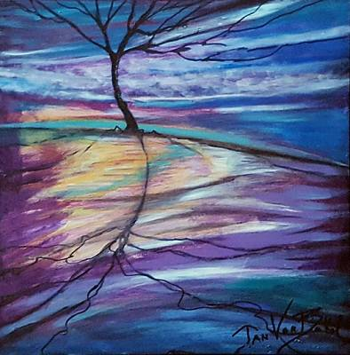 Painting - Well Rooted by Jan VonBokel