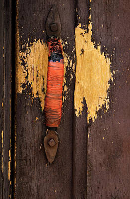 Photograph - Well Used Door by Jean Noren