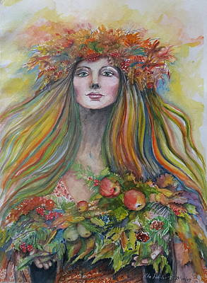 Painting - Welcome To Autumn by Rita Fetisov